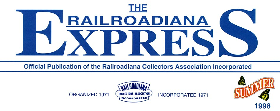 Railroad Collectors Association Incorporated Logo